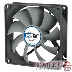 картинка case fan arctic f9 pwm (pst) co rtl (afaco-090pc-gba01) в интернете магазине BIGWOLF.RU