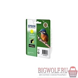 картинка epson c13t15944010 epson t1594 для stylus photo r2000 (yellow) (cons ink) в интернете магазине BIGWOLF.RU