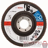 картинка bosch 2608607322 круг лепестк 115мм k40 best for metal в интернете магазине BIGWOLF.RU