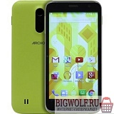 картинка archos 50c neon {5'' ips/1gb/8gb/dual sim/sd/wifi/bt/8mp/and 4.4} в интернете магазине BIGWOLF.RU
