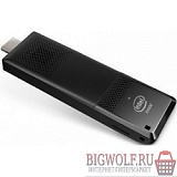 картинка intel compute stick stk2m364cc cedar city (blkstk2m364cc) core m3-6y30, 4gb, ssd 64gb, wi -fi, bluetooth, usb 3.0, hdmi, no os в интернете магазине BIGWOLF.RU